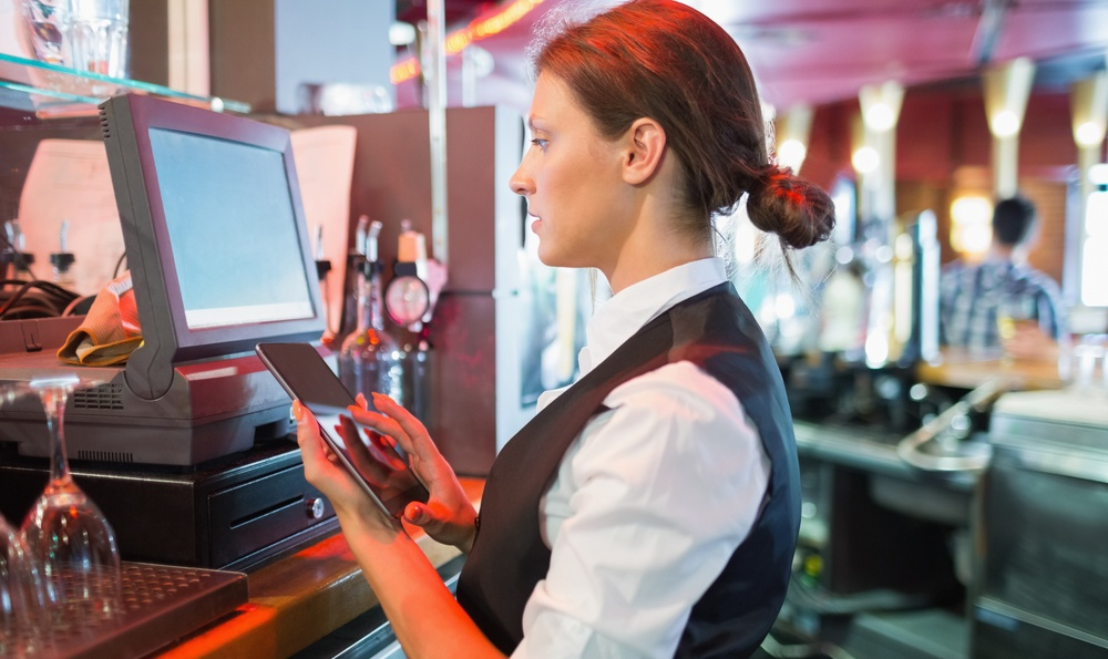 Integrated room booking and pub EPOS